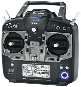 Radio Futaba 8J mode 1 + R2008SB