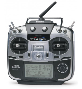 Radio 14SG + recepteur R7008SB mode 1