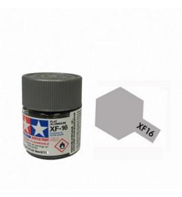 Peinture Tamiya X-F16 Alluminium mat 10ml