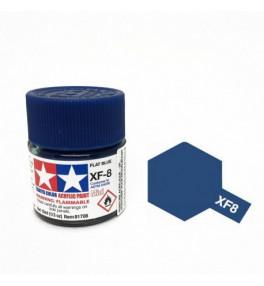 Peinture Tamiya X-F8 Bleu mat 10ml
