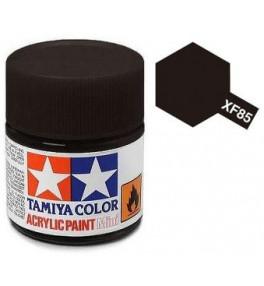 Peinture Tamiya X-F85 Noir Caoutchouc 10ml