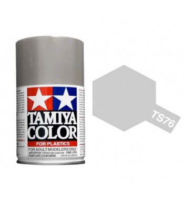 Bombe Peinture Tamiya  TS-76 Argent Clair Metal briliant  100ml