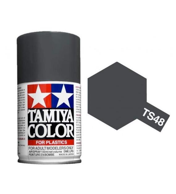 Bombe Peinture Tamiya  TS-48 Gris Naval mat 100ml