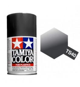Bombe Peinture Tamiya  TS-40 Noir Métallique  100ml