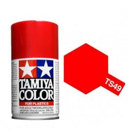 Bombe Peinture Tamiya  TS-49 Rouge Vif  100ml