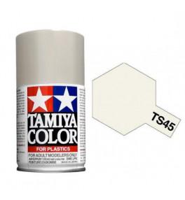Bombe Peinture Tamiya  TS-45 Blanc Perle 100ml