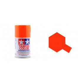 Bombe Peinture Tamiya  PS-24 Orange Fluorescent 100ml