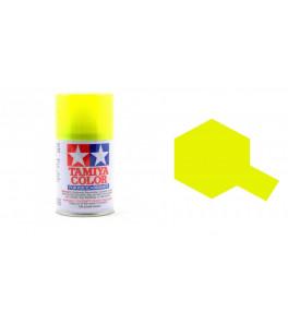 Bombe Peinture Tamiya  PS-27 Jaune Fluorescent 100ml