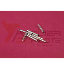 Connecteur or 2mm M+F (4 paires)
