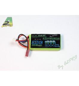 Black Lithium 2S 1000mAh 35C bec