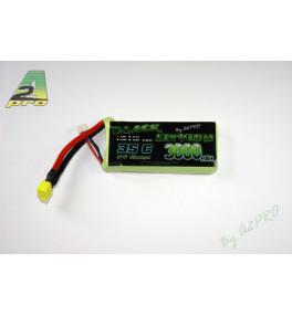 Black Lithium 2S 3000mAh 35C