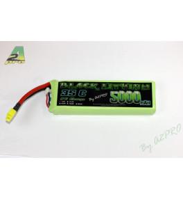 Black Lithium 2S 5000mAh 35C