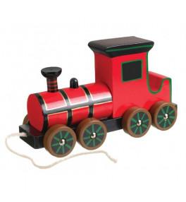 Train à vapeur bois à tirer