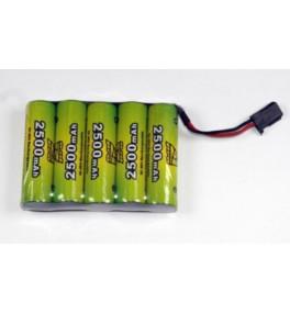Batterie Nimh 6V 2500mAh...