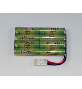 Batterie NimH 9.6V 2500mAh...