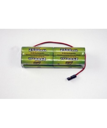 Pack Nimh 9.6v 2500mah JR