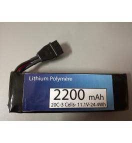 Batterie 3S 2200mAh 20C...