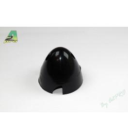 Cone plastique noir50mm