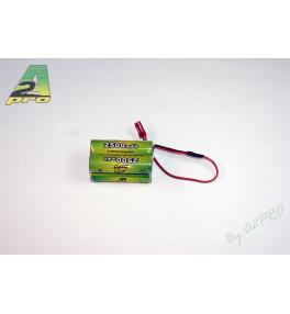 Pack Rx 4.8V 2500mAh bec