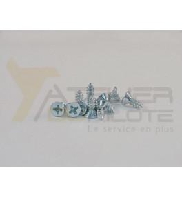 Vis tôle conique 3.5x9.5 acier