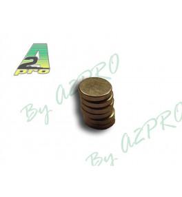 A2Pro Aimants ronds 5mm / 1...