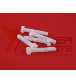 Vis tête cylindrique nylon M5x30