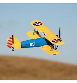 E-FLITE UMX PT-17 Biplan...