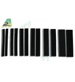 A2PRO Velcro Noir 50x200mm...