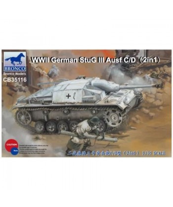 BRONCO Char WWII German...