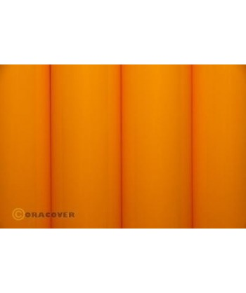 Oracover jaune orange 1m