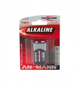 ANSMANN Pile 9V Alcaline...