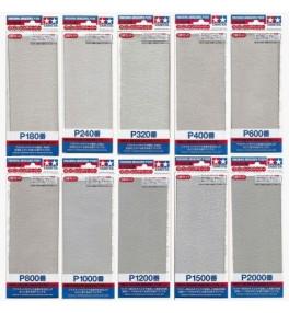 Papier abrasif p600 tamiya