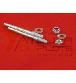 Axe de roue 4mm (2 pces)