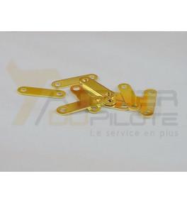 Barre de connection or éléments seuls 18.5mm