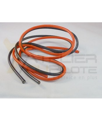 Cable silicone 12 AWG 1050 1m