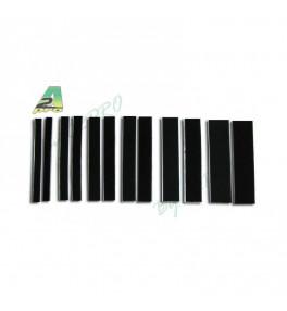 A2PRO Velcro Noir 25x200mm...