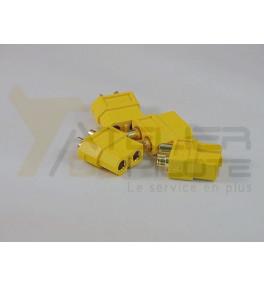 Connecteur or XT 60 mâle (4 pces)