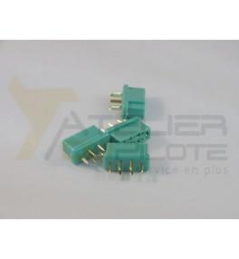 Connecteur Multiplex mâle (4 pces)