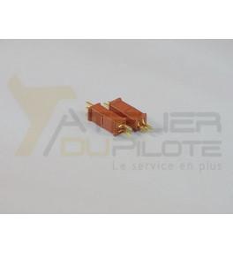 Connecteur mini dean M+F (2 paires)