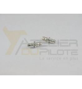 Coupleur durite 3mm (2 pces)