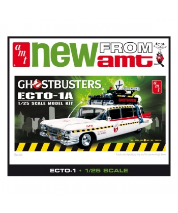 AMT Ghostbuster ecto-1 1/25