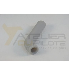 Coude échappement silicone 10mm 45°