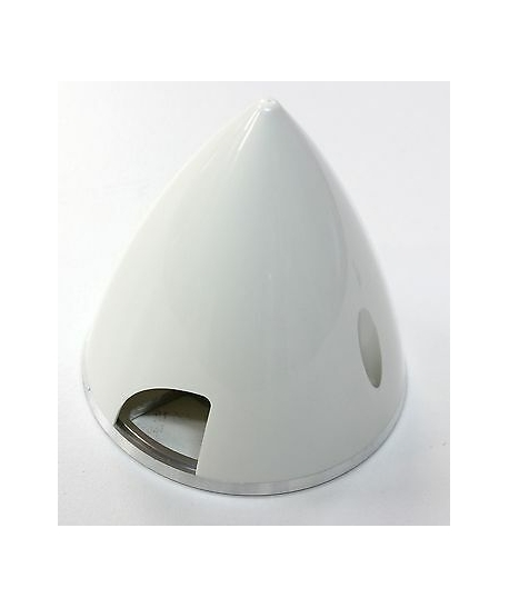 INOVA Cone blanc flasque alu 57mm