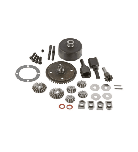 ARRMA F/R  diff set 43T spiral AR220041