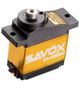 Servo Savox micro digital 3.9kg - 0.13s pignons métal