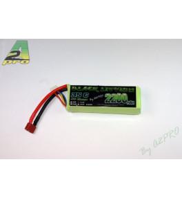 Black Lithium 3S 2200mah 35c