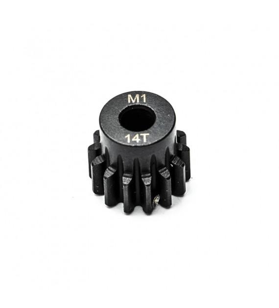 KONECT Pignon moteur M1 14 dents en acier KN-180114