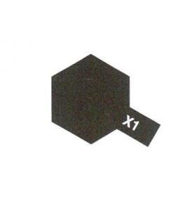 TAMIYA X1 noir brillant pot...