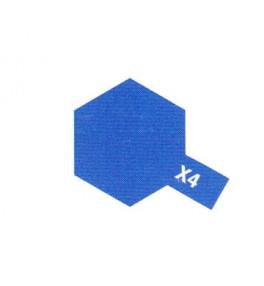 TAMIYA X4 Bleu Brillant Pot...
