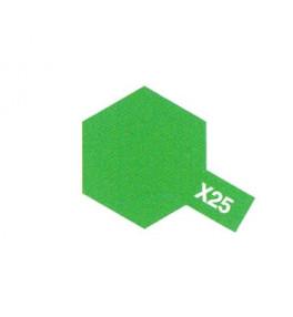 TAMIYA X25 Vert Translucide...